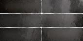 Плитка настенная EQUIPE Magma Black Coal 6.5x20 см
