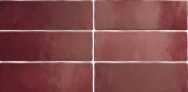 Плитка настенная EQUIPE Magma Burgundy 6.5x20 см
