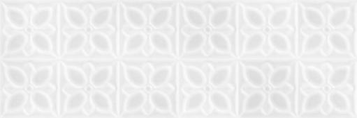 Плитка Meissen Keramik Lissabon белый 25*75 LBU053D рельеф