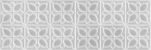 Плитка Meissen Keramik Lissabon серый 25*75 LBU093D рельеф