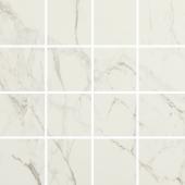 Мозаика керамическая полированная MARBLES MALLA LUCCA Blanco (7х7) 30x30 см