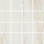 Мозаика керамическая полированная MARBLES MALLA TRESANA Blanco (7х7) 30x30 см