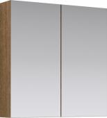 МС шкаф-зеркало, цвет дуб сонома, МС.04.07/DS 70*70*15