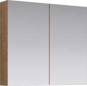 МС шкаф-зеркало, цвет дуб сонома, МС.04.08/DS 80*70*15