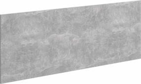 Mobi фасад тумбы под умывальник, цвет бетон светлый, 120 см 117*45*1