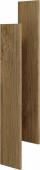 Mobi комплект боковин зеркального шкафа, цвет дуб балтийский, 17 см 2*60*17