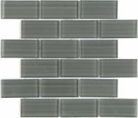 Мозаика Mattoni Grigio 30x30х0,8 см (чип 50х100х8 мм)