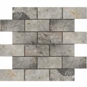 Мозаика, натур. мрамор LgP 48x98 (300X300X9)