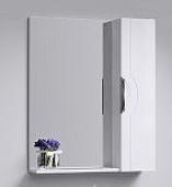 Н-Лайн Панель с зеркалом и шкафчиком, 75*82*17