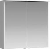 Neringa шкаф-зеркало с подсветкой, цвет белый NER0408 80*76*17