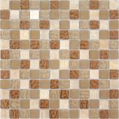 Мозаика Naturelle - Amber 30x30х0,8 см (чип 23х23х8 мм)