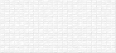 Плитка CERSANIT  Pudra белый мозаика 20х44 PDG053D рельеф