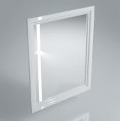 Зеркало POMPEI 60 см белое