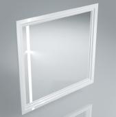 Зеркало POMPEI 80 см белое