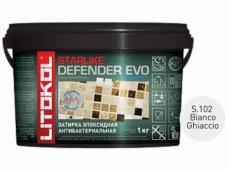 Затирка эпоксидная Litokol Starlike Defender Evo S.102 Bianco Ghiaccio