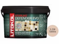 Затирка эпоксидная Litokol Starlike Defender Evo S.208 Sabbia