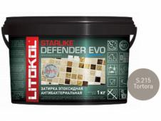 Затирка эпоксидная Litokol Starlike Defender Evo S.215 Tortora