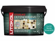 Затирка эпоксидная Litokol Starlike Defender Evo S.410 Verde Smeraldo