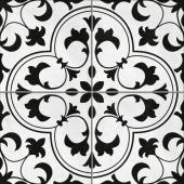 Керамогранит CERSANIT Sevilla пэчворк белый рельеф 42x42 SE4R053
