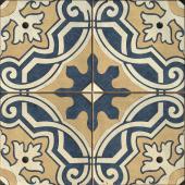 Керамогранит CERSANIT Sevilla пэчворк многоцветный рельеф 42x42 SE4R453