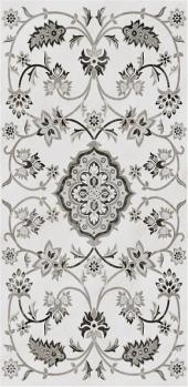 Парнас серый декорированный лаппатированный 40*80