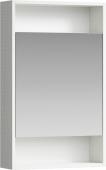 Сити Шкаф-зеркало 50 см, цвет дуб канадский, SIT0405DK 50*80*15
