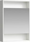 Сити Шкаф-зеркало 60 см, цвет дуб канадский, SIT0406DK 60*80*15