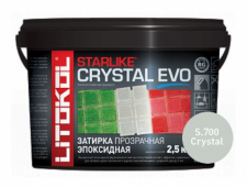 Затирка эпоксидная LITOCHROM STARLIKE EVO S.700 Cryslal (Прозрачная, Хамелеон) LITOKOL 2.5 кг