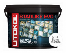 Starlike Evo S.100 Bianco Assoluto 5 кг эпоксидная затирка