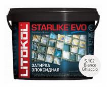 Starlike Evo S.102 Bianco Ghiaccio 5 кг эпоксидная затирка