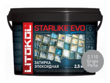 Starlike Evo S.110 Grigio Perla 2,5 кг эпоксидная затирка