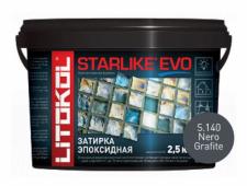Starlike Evo S.140 Nero Grafite 2,5 кг эпоксидная затирка