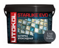 Starlike Evo S.140 Nero Grafite 5 кг эпоксидная затирка