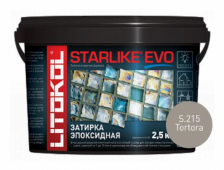 Starlike Evo S.215 Tortora 2,5 кг эпоксидная затирка