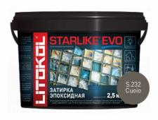 Starlike Evo S.232 Cuoio 2,5 кг эпоксидная затирка