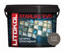 Starlike Evo S.232 Cuoio 5 кг эпоксидная затирка