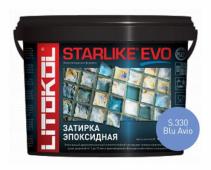 Starlike Evo S.330 Blu Avio 5 кг эпоксидная затирка