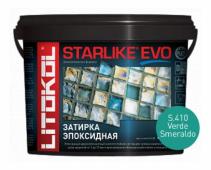 Starlike Evo S.410 Verde Smeraldo 5 кг эпоксидная затирка
