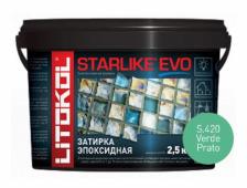 Starlike Evo S.420 Verde Prato 2,5 кг эпоксидная затирка