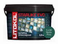 Starlike Evo S.430 Verde Pino 2,5 кг эпоксидная затирка