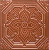Декор Салинас оранжевый 15*15