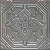 Декор Салинас серый 15*15