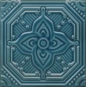 Декор Салинас синий 15*15