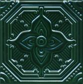 Декор Салинас зелёный 15*15
