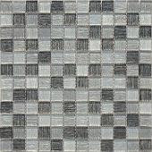 Мозаика Black Tissue 29,8х29,8x0,4 см (чип 23х23х4 мм)