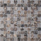 Мозаика Coffee Jute 29,8х29,8x0,4 см (чип 23х23х4 мм)