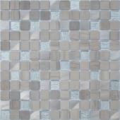 Мозаика Grey Velvet 29,8х29,8x0,4 см (чип 23х23х4 мм)