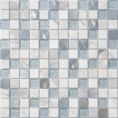 Мозаика Ice Velvet 29,8х29,8x0,4 см (чип 23х23х4 мм)