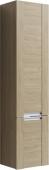 Simphony пенал подвесной левый, цвет дуб сонома, Sim.05.04/L/DS, 40,5*159*30