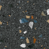керамогранит ARCANA Stracciatella-R Grafito Polished 79,3*79,3 см